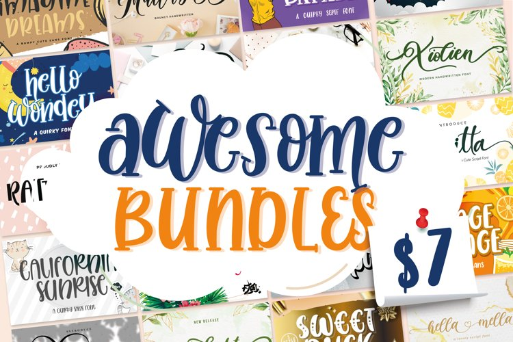 Awesome Bundles Vol 01 example image 1