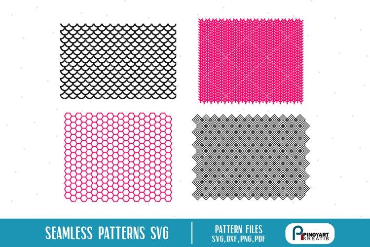 Seamless Pattern SVG Bundle - seamless pattern vectors