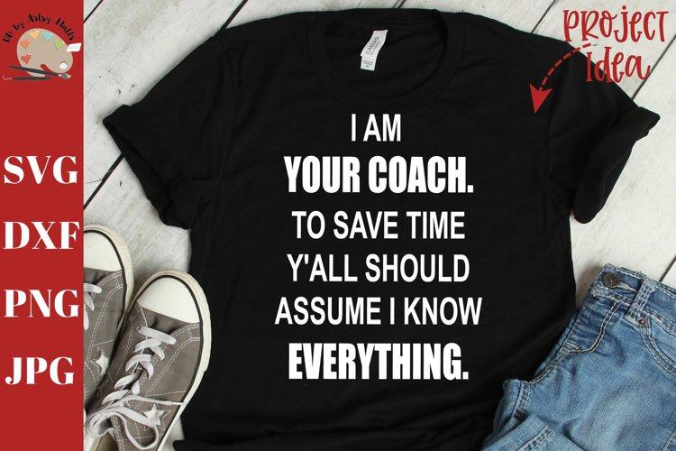 funny coach gift, coach sign, coach decal, funny coach shirt