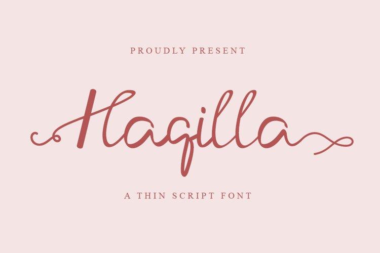 Haqilla example image 1