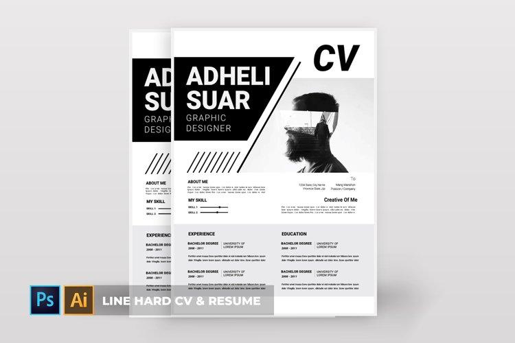 Line Hard | CV & Resume example image 1