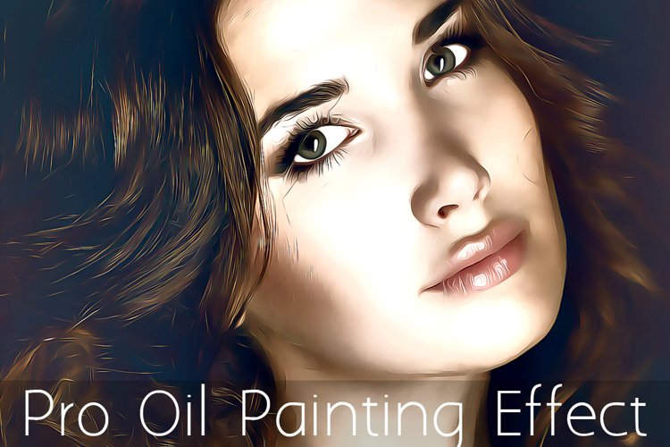 Pro Oil Painting Effect Action example image 1