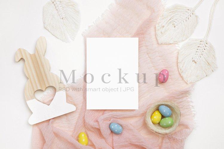 Holiday Mockup,5x7 Card Mockup,Poster Mockup example image 1