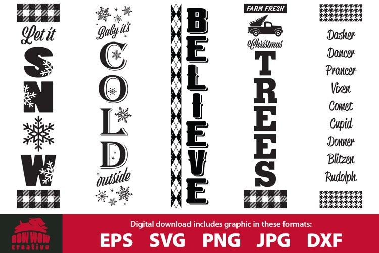 BEST SELLER Christmas & Winter porch sign bundle