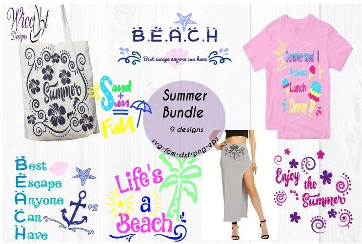 Beach Bundle, Holiday svg, beach quote Quote bundle svg