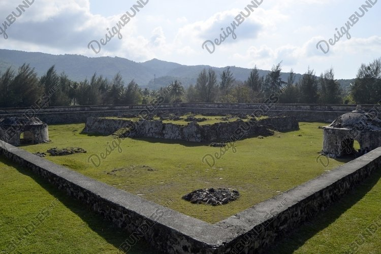 Indraprata fort Aceh, a relic of the Lamuri kingdom example image 1