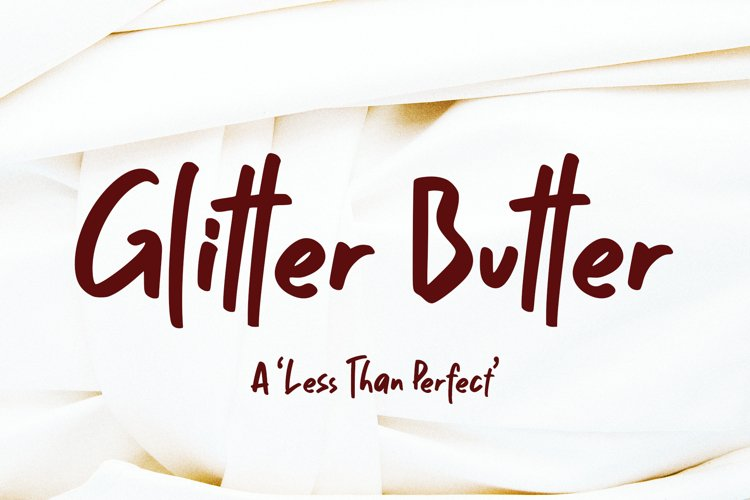 Glitter Butter example image 1