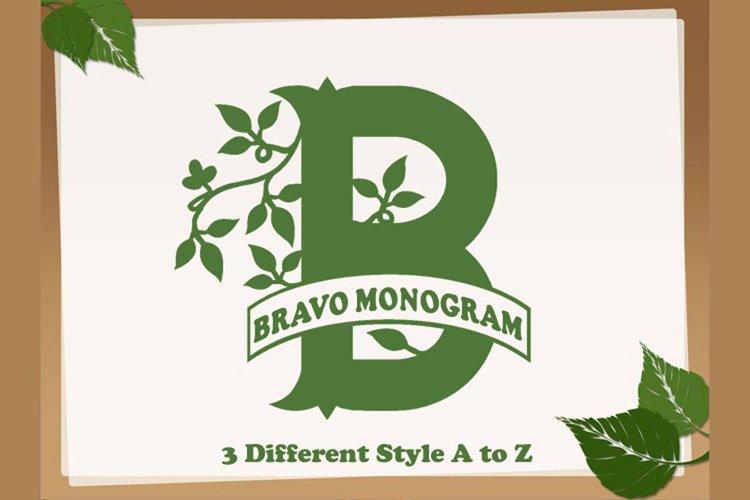 Bravo Monogram example image 1
