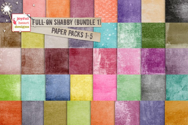 Full-On Shabby {Bundle One} example image 1