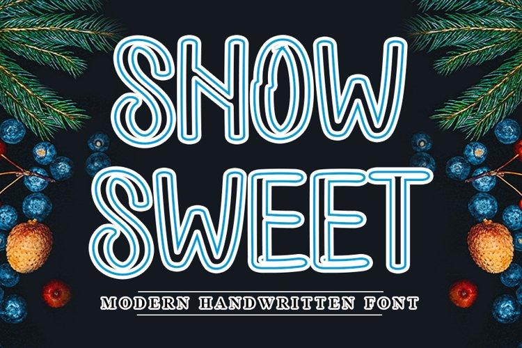 Snow Sweet example image 1