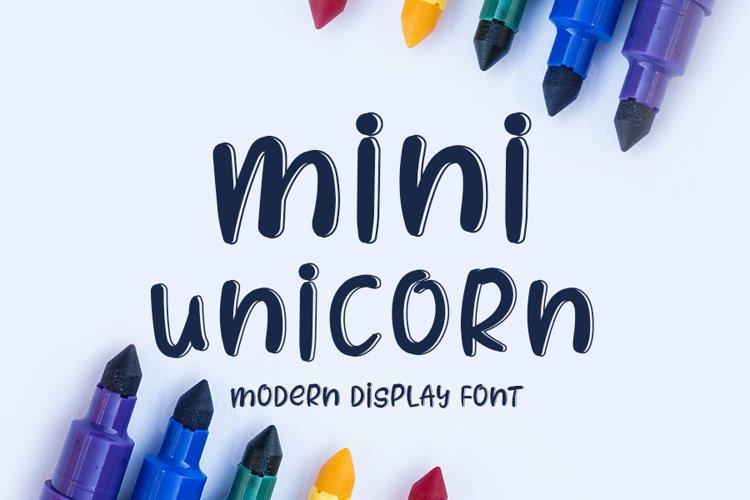 Mini Unicorn example image 1