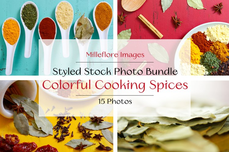 Colorful Spices Food Blog Recipe eBook Styled Photos Bundle