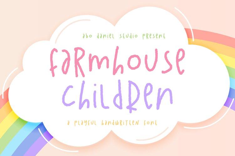 Farmhouse Children example image 1