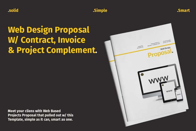 Web Design Proposal W/ Complement example image 1