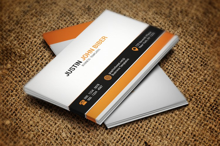 Smart Corporate Business Card example image 1