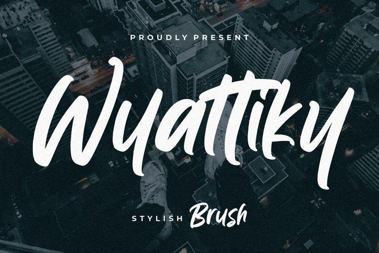 Wyattiky Stylish Brush example image 1