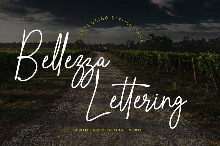 Bellezza Lettering example image 1