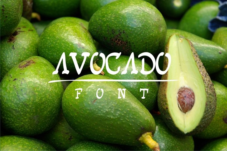 avocadofont