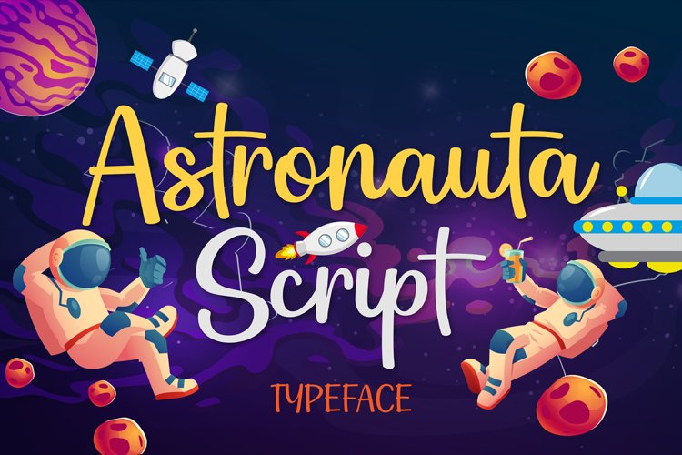 Astronauta Script example image 1