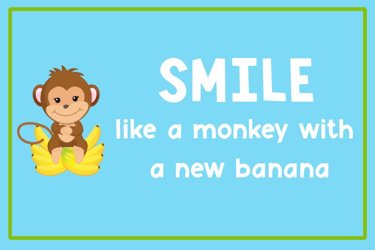 Monkey Mayhem - A fun and playful font example 2