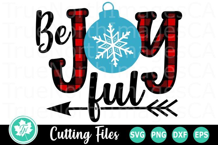 Be Joyful - A Christmas SVG Cut File example image 1
