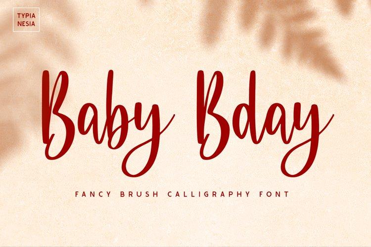 Baby Bday example image 1