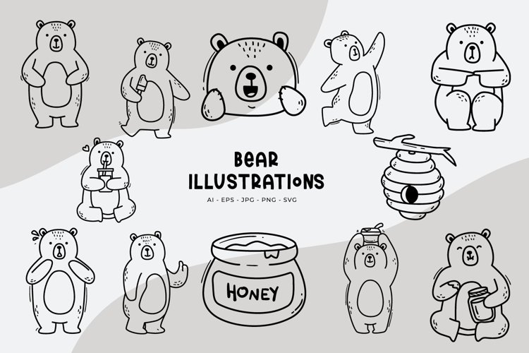 Bear Illustrations