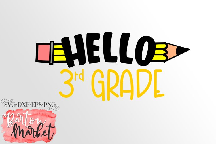 Hello 3rd Grade for Crafters
