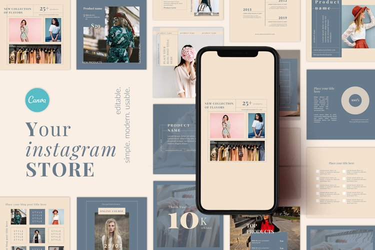 Instagram templates Your STORE