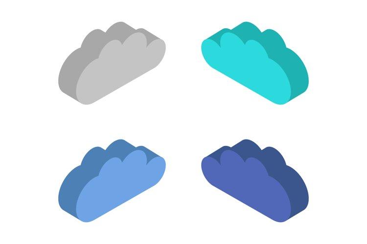isometric cloud example image 1