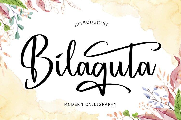 Bilaguta Modern Calligraphy example image 1