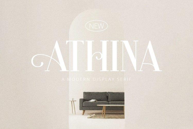 Athina - Modern Serif example image 1