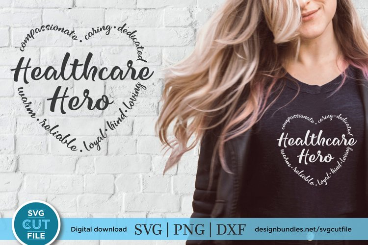 Healthcare hero svg, a health care hero svg for crafters