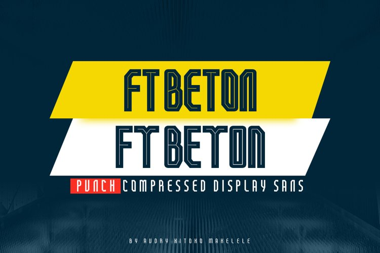 FT Beton Punch Compressed example image 1