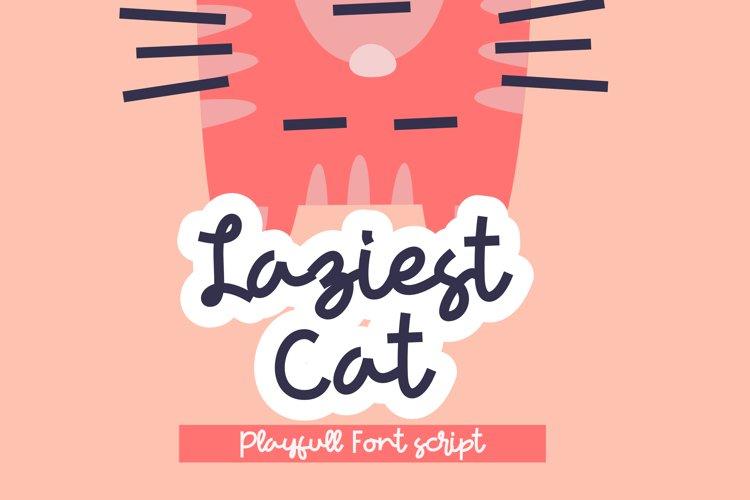 Laziest Cat example image 1