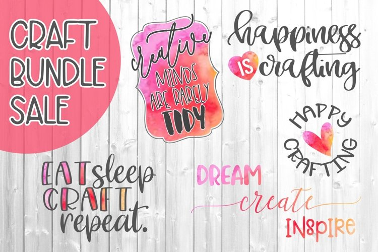 Crafting Quote Bundle SVG DXF PNG