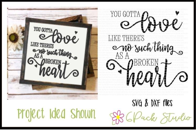 Broken Heart SVG