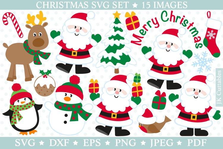 Christmas svg files SVG DXF PNG JPEG EPS Santa cutting files