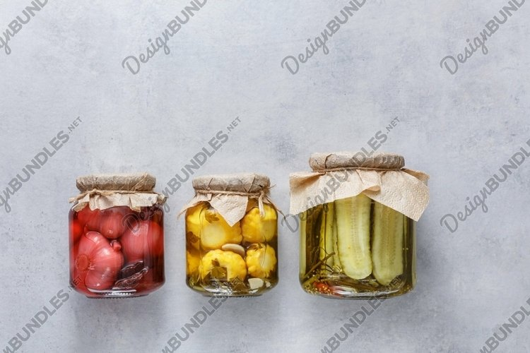 Stock photos of fermented food