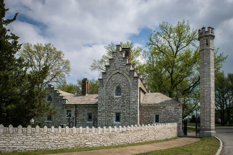 Beautiful architecture at Tower Grove Park in St Louis example image 1