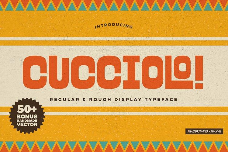 Cucciolo Typeface + Extras