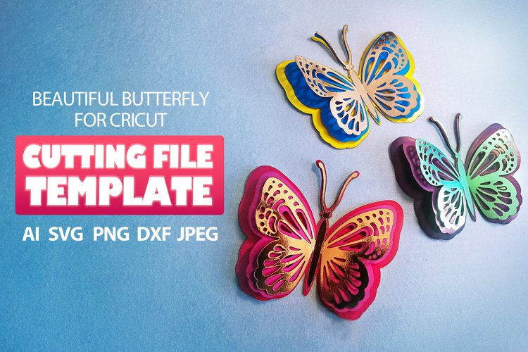 Butterfly SVG butterfly clipart butterfly Stencil for cricut