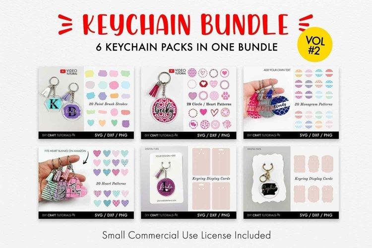 Keychain SVG Bundle, Acrylic Keychain Pattern SVG - Vol 2