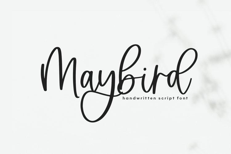 Maybird - Handwritten Script Font example image 1