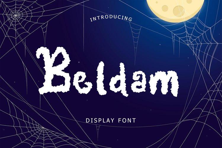 Beldam Display Font example image 1