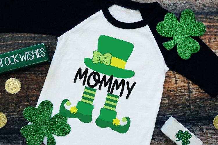 Mommy Leprechaun - St Patrick's Day SVG example image 1