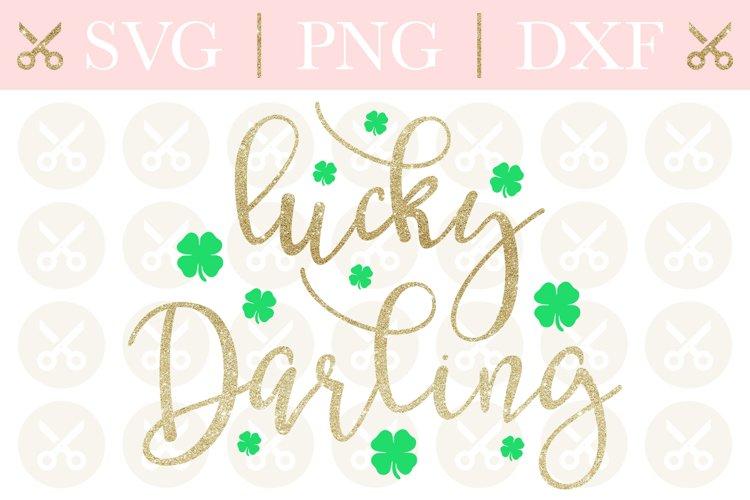 St. Patricks Svg Lucky Darling Svg St.Patricks Day Svg
