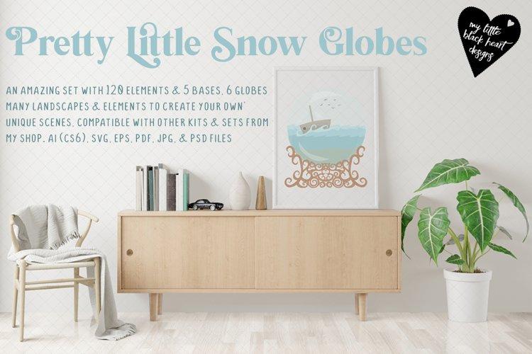 Pretty Little Snow Globes Kit