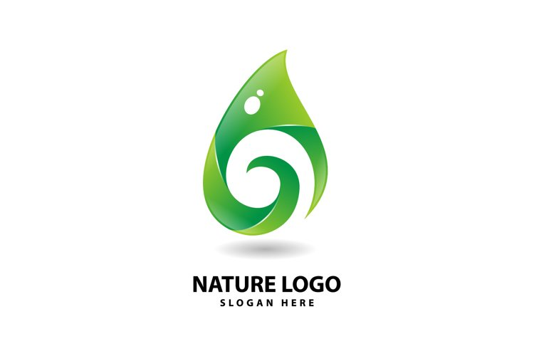 Nature Drop Logo example image 1