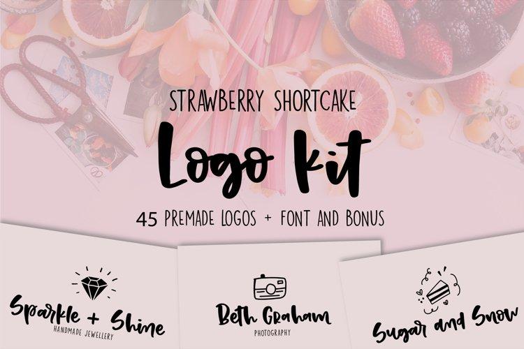Strawberry Shortcake LOGO KIT  Bonus example image 1